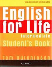 Oxford ENGLISH FOR LIFE Intermediate Student's book /Coursebook I Hutchinson NEW