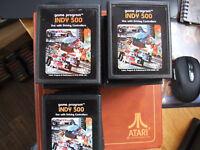 ATARI 2600 REGION FREE OFFERS/COMBINE - PICTURE LABEL A - CX2611 INDY 500