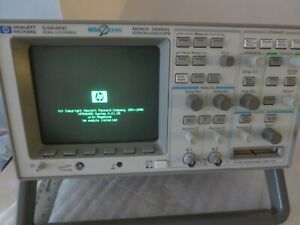 HP 54645D 2CH 16MHZ MIXED SIGNAL OSCILLOSCOPE