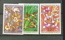 BRITISH  HONDURAS  STAMPS,   3 MINT. NEVER  HINGED .COLLECTION BREAK UP