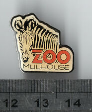 Zebra - mammal animal pin badge
