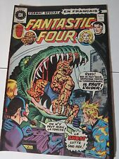 FANTASTIC FOUR 161  B & W French comic Heritage 50  Québec 1975 Rare!
