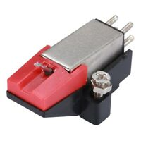 Platten Spieler Dual Moving Magnet Stereo Schallplatten Spieler Stylus Nadel x1k