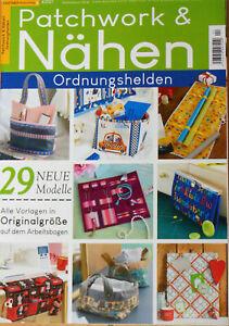 Patchwork & Nähen SPEZIAL 4/2021 - Ordnungshelden, DIY, Organizer