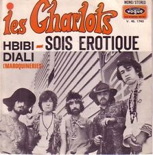 """45 TOURS LES CHARLOTS """"Sois Erotique / Hbibi Diali"""" 1970 POP MICHEL BERNHOLC"""