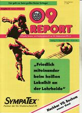 BL 92/93 SG Wattenscheid 09 - VfL Bochum