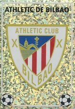 N°G BADGE ESCUDO ATHLETIC BILBAO CROMO STICKER PANINI LIGA 1997