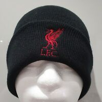 Liverpool Official Brand 47 Black Bronx Hat with Liverbird and LFC - Onesize