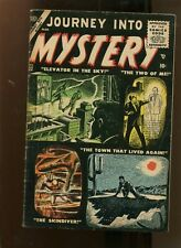 JOURNEY INTO MYSTERY #32 (4.0) ELEVATOR IN THE SKY!! 1956