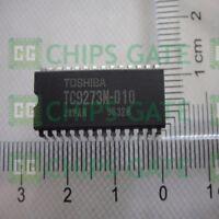 2PCS TC9273N-010 Encapsulation:SDIP-28,ANALOG SWITCH ARRAY ICs