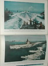 1946 magazine article about Postwar US Navy, by Admiral Nimitz, ships submarines