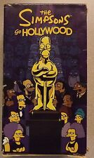 VHS The Simpsons Go Hollywood 1, 2 & 3 Box Set