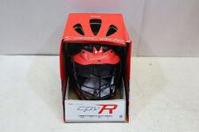 Cascade CPV-R LAcrosse Helmet W/ Black Mask, Black