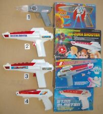 New Science Fiction '80's Vintage Electronic Toy Guns, Very Low Price