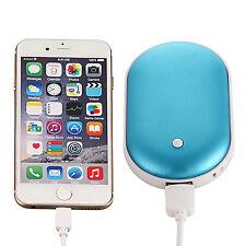 5000mAh USB Taschenwärmer mit Akku Handwärmer,Wiederaufladbare Heizung