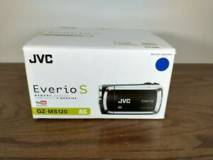 JVC Everio S GZ-MS120 YouTube Video Camera 40X Zoom Laser Touch New Open Box