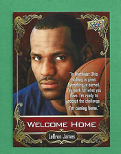2014 Upper Deck National Convention Welcome Home LeBRON JAMES Cavaliers promo