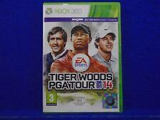 xbox 360 TIGER WOODS PGA TOUR 14 Featuring 20 Championship Golf Courses PAL UK