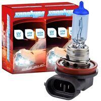 2x H11 Xenon Look XENOHYPE Ultra Halogenlampe 12V 55 Watt PGJ19-2
