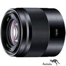 5YR AU WTY☆FREE POSTAGE☆Sony SEL 50mm F1.8 OSS E-Mount Lens (SEL50F18/B) Black