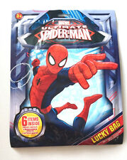 Ultimate Spiderman LUCKY BAG Marvel 6 SELECTION ITEMS Pencil GAMES PARTY TREAT