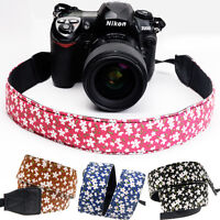 DSLR Canon Nikon Sony Camera Shoulder Strap Neck Strap Belt Hand Grip Colorful