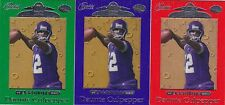 Daunte Culpepper 1999 Playoff Absolute Rookie card RC lot of 3 Red-Purple-Green