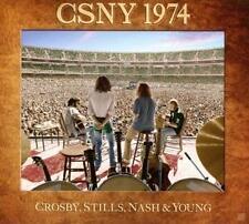 CSNY 1974 [CD/DVD] by Crosby, Stills, Nash & Young (DVD, Jul-2014, 4 Discs, Atlantic (Label))