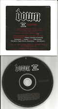 Pantera DOWN II Sampler w/ EDITS & INTERVIEW PROMO DJ CD Corrosion of Conformity