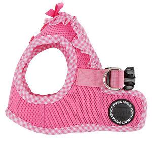 Puppia - Dog Puppy Mesh Harness Soft Vest - Vivien - Pink - XS, S, M, L