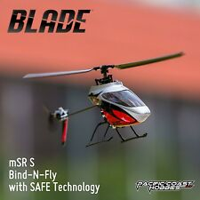 Blade mSR S Ultra Micro RC Helicopter BNF with SAFE Technology BLH2980