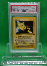 Japanese Pokemon 2000 Gotta Magazine French Promo PIKACHU - PSA 9