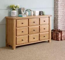 Oak Traditional 81cm-100cm High Chests of Drawers