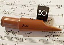 Borb Oliver Jazz baritone saxophone coppermix 7 mouthpiece w/ ligature ref RPC