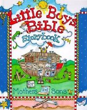 Little Boys Bible Storybook for Mothers and Sons by Carolyn Larsen (1999, Hardc…