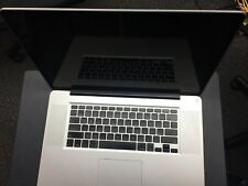 "Apple MacBook Pro 17"" Early 2008 Core 2 Duo for Parts"