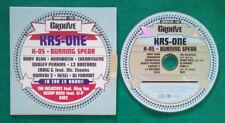 CD Compilation Groove Sampler #03 KRS ONE NESLI AESOP ROCK RAP HIP HOP no lp(C2)
