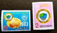 Taiwan 38th World Congress Of Jaycees International 1983 Emblem Globe (stamp MNH