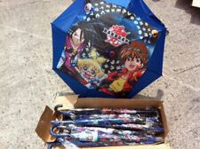 Wholesale Job Lot of 12 x Kids Bakugan Pattern Boys Umbrella Back to School  NEW