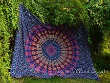 Mandala Indian Tapestry Wall Hanging Bohemian Bedspread Tumblr Room Hippie Decor