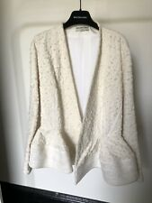 Balenciaga By Alexander Wang Off-White Cream Jacket RRP 6k