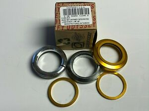 """Odyssey Intergrated Low Stack 1 1/8"""" 45 Degree Headset Gold BMX MTB"""