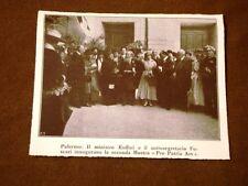 Palermo nel 1917 Ruffini e Foscari inaugurano la seconda Mostra Pro Patria Ars