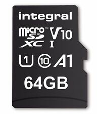 64GB MicroSDXC Memory Card with A1 App Performance for Increasing Android Memory