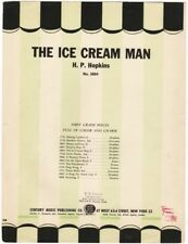 The Ice Cream Man, 1942  vintage sheet music for the beginning player