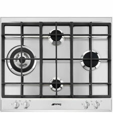 Smeg P261XGH Cucina 60cm Stainless Steel 4 Burner Gas Hob