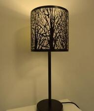 CLA Lighting Autumn Table Lamp Bronze w Amber E27 in 52cm