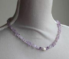 Silver Plated Pearl Fine Necklaces & Pendants