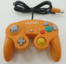 Used Nintendo Official GAMECUBE Wii Controller GC Pad Orange from Japan