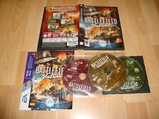 BATTLEFIELD VIETNAM DE EA GAMES PARA PC CON 3 DISCOS USADO COMPLETO